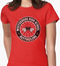 Westerburg High School Rottweilers (Heathers) Women's Fitted T-Shirt