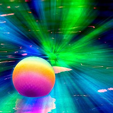Bouncy Ball in Outer Space by spops
