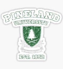 Pineland University Vintage Graphic Sticker