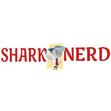 Shark Gifts For Shark Lovers Funny Nerd by MyLittleMutant