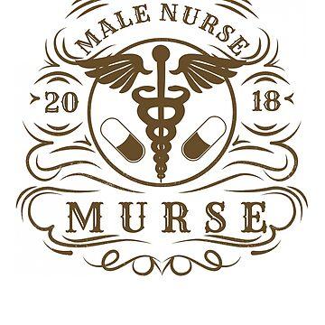 Murse or Male Nurse Birthday Gift by MyLittleMutant