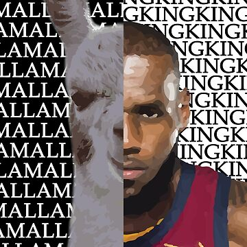 LLama King - Lebron James by RLVantagePoint