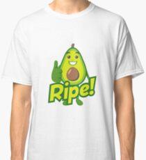 Ripe Avocado Emoji Classic T-Shirt
