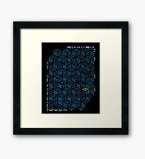 Modern Kamon Framed Print