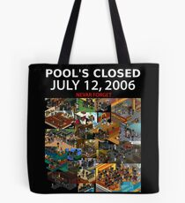 Anonymous - Pool's Closed Tote Bag