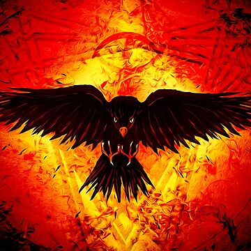 Cinder Crow by GregorySaxon