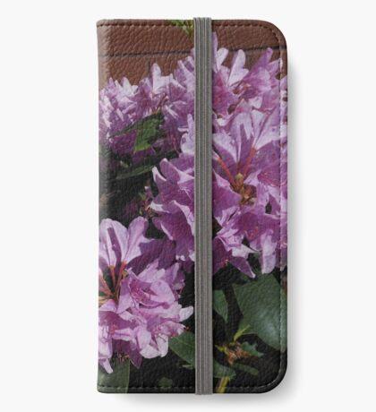 Rhododendron genießt den Sonnenschein iPhone Flip-Case