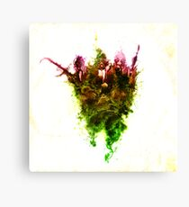 Inhale Thy Colour Canvas Print