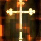 Golden Cross by Dmarie Becker