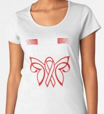 Love is Composed of a single soul inhabiting two Bodies. AIDS Awareness Quote  Women's Premium T-Shirt