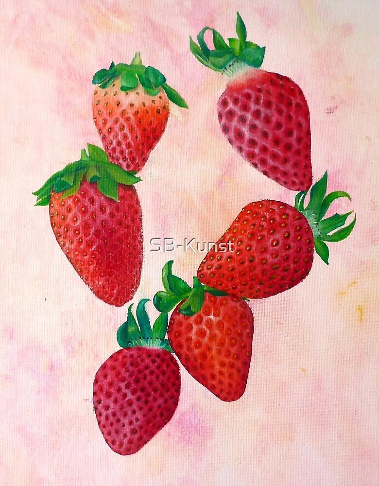 Strawberry fruits by SB-Kunst
