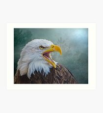 The Call of The Eagle Art Print