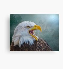 The Call of The Eagle Canvas Print