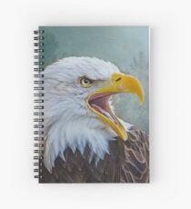 The Call of The Eagle Spiral Notebook