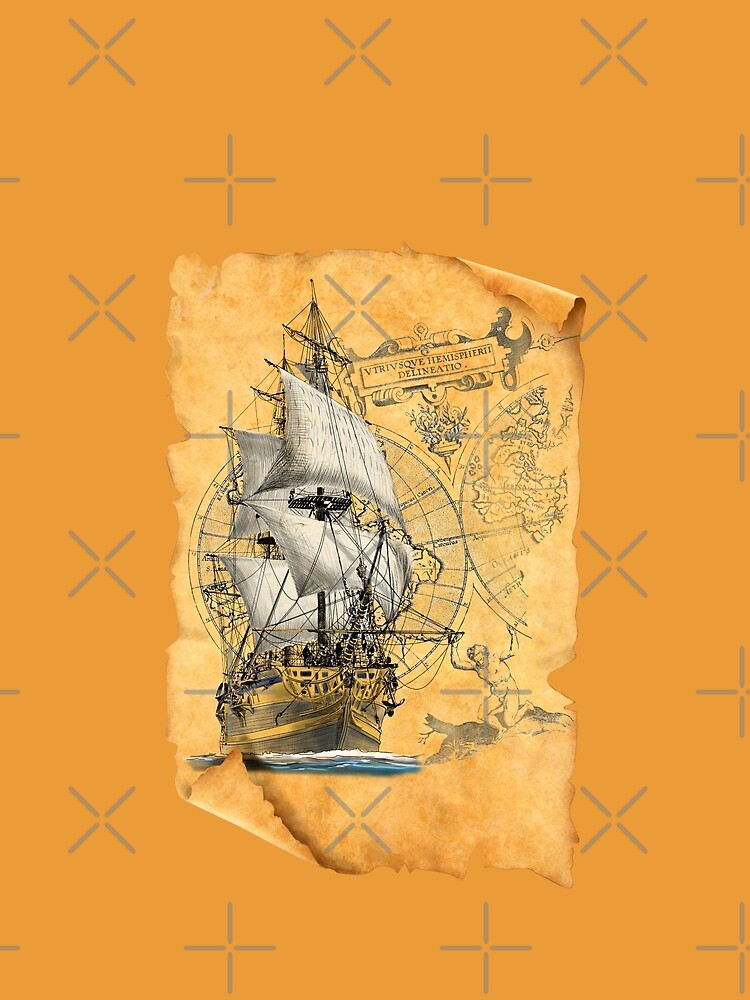 sailing ship by sibosssr