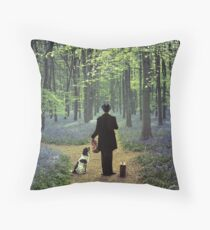 Second Fiddle Throw Pillow