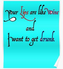 Funny Love Slogan TShirts Poster