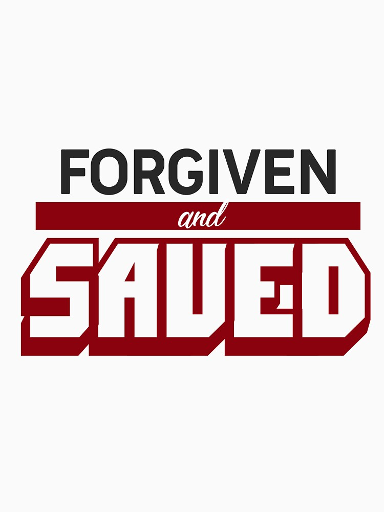 Forgiven And Saved by hecolors