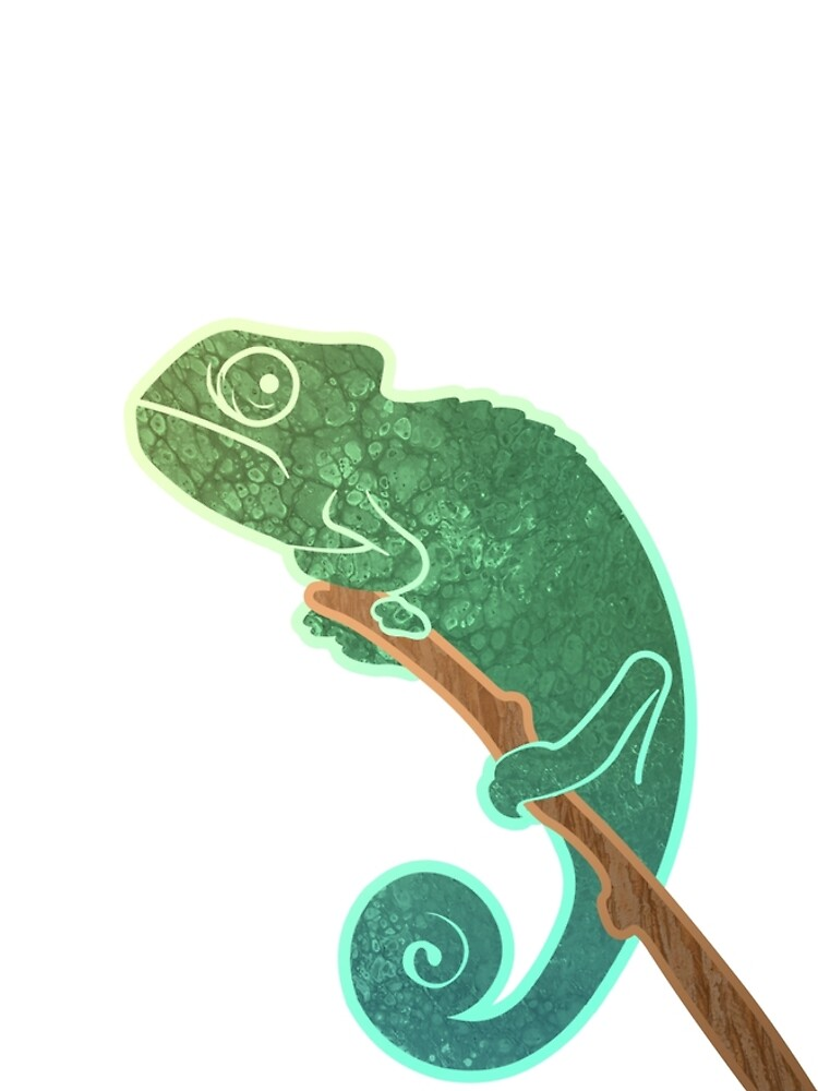The Ever Watchful Chameleon by ShaKirShoppe