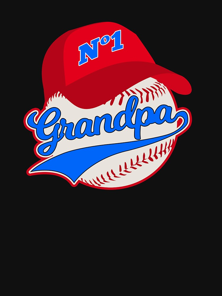 Baseball Grandpa Fathers Day Grandfather by TheLariat