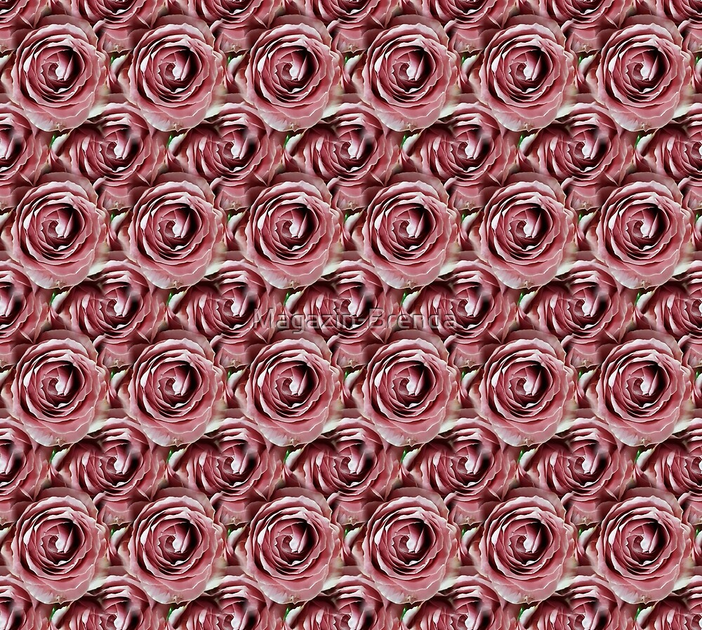 Million Scarlet roses by Magazin-Brenda