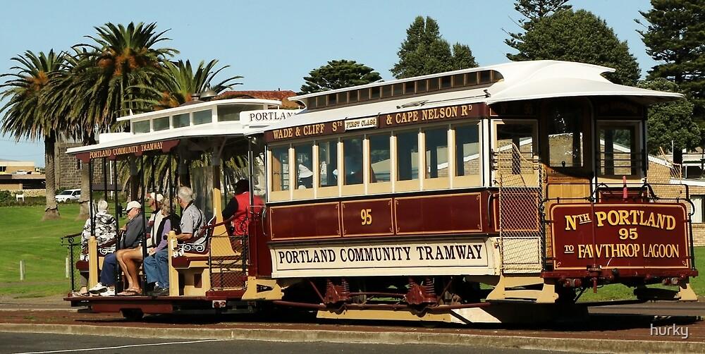 Portland Tram by hurky