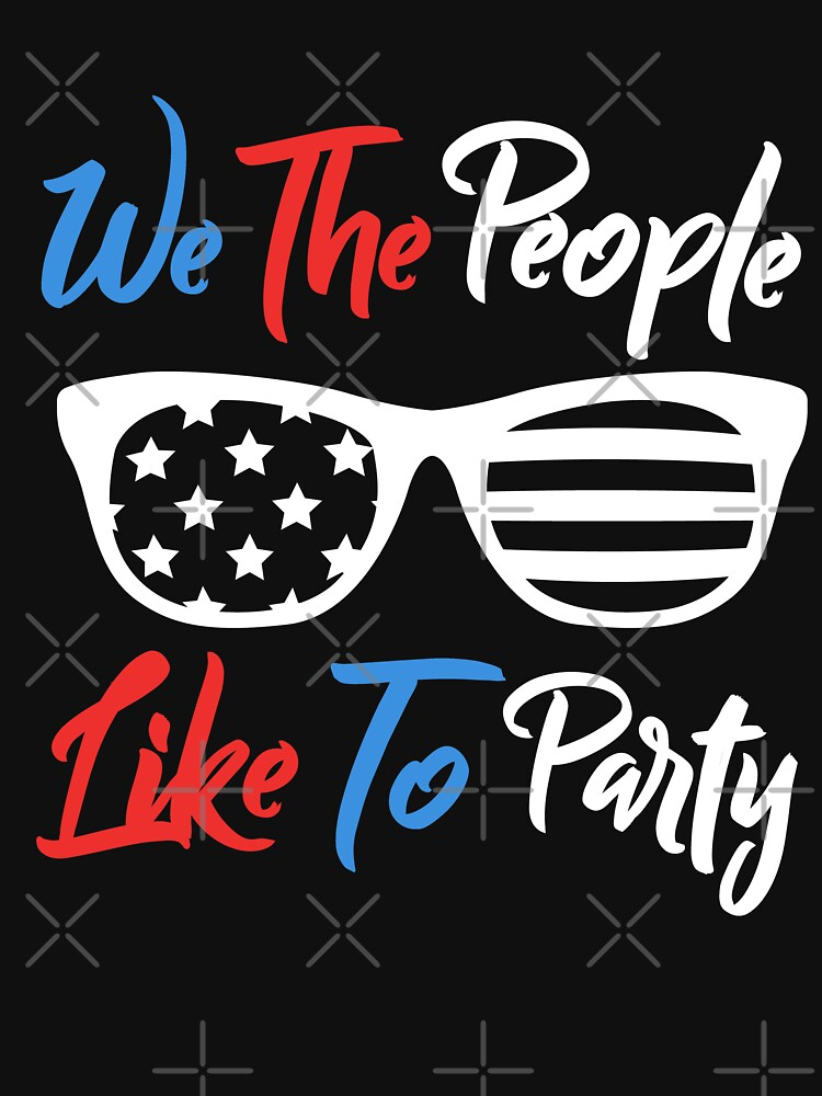 We The People Like To Party USA Sunglasses by EcoKeeps