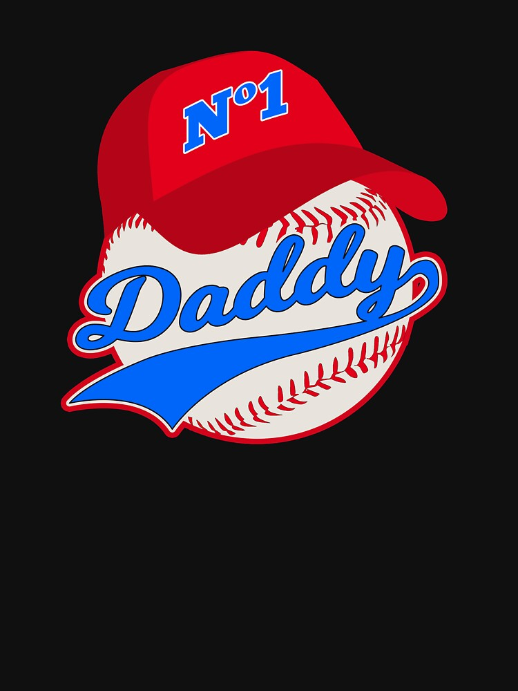Baseball Father Fathers Day Men Daddy Dad by TheLariat