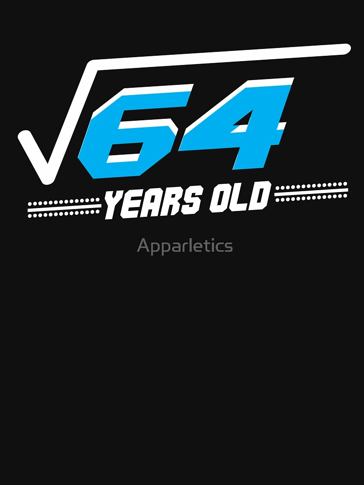 Square root of 64 by Apparletics
