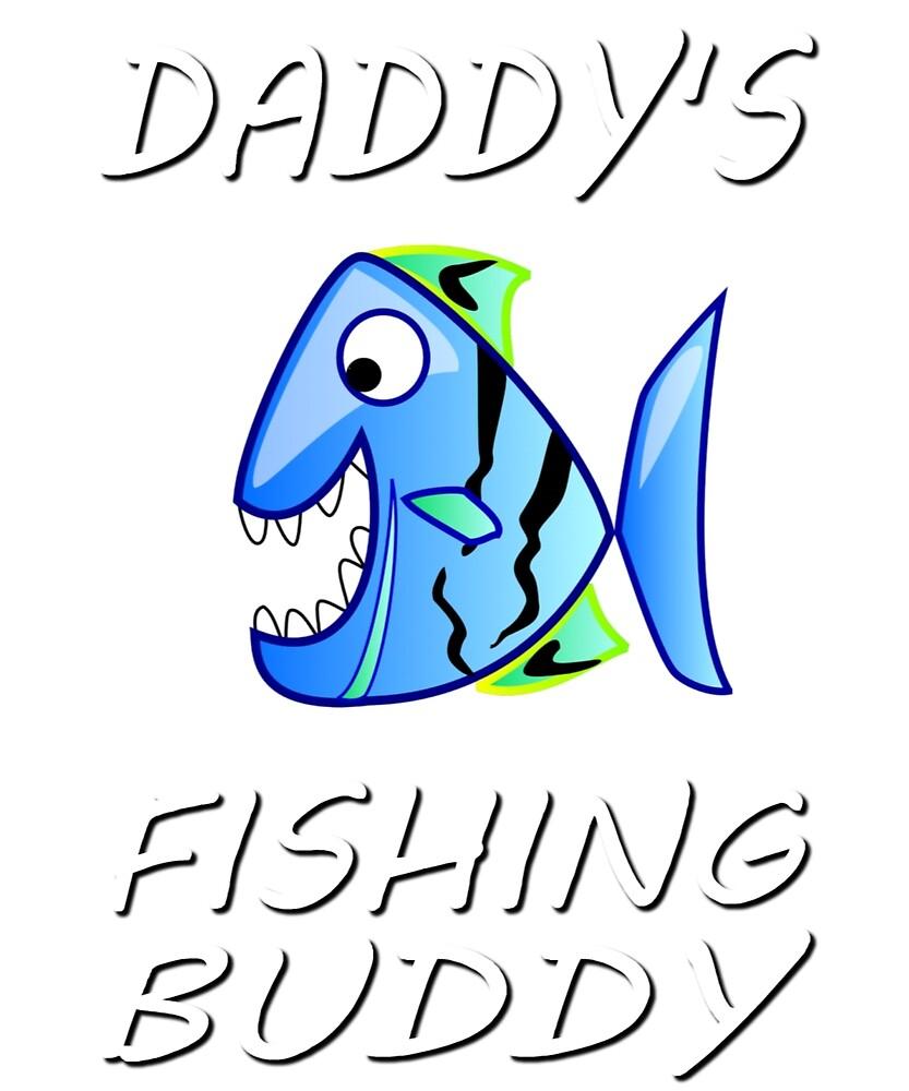Daddy's Fishing Buddy by Amir Rimer
