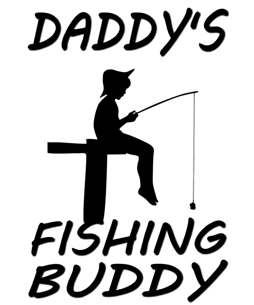 Daddy's Fishing Buddy by Amir Rimer