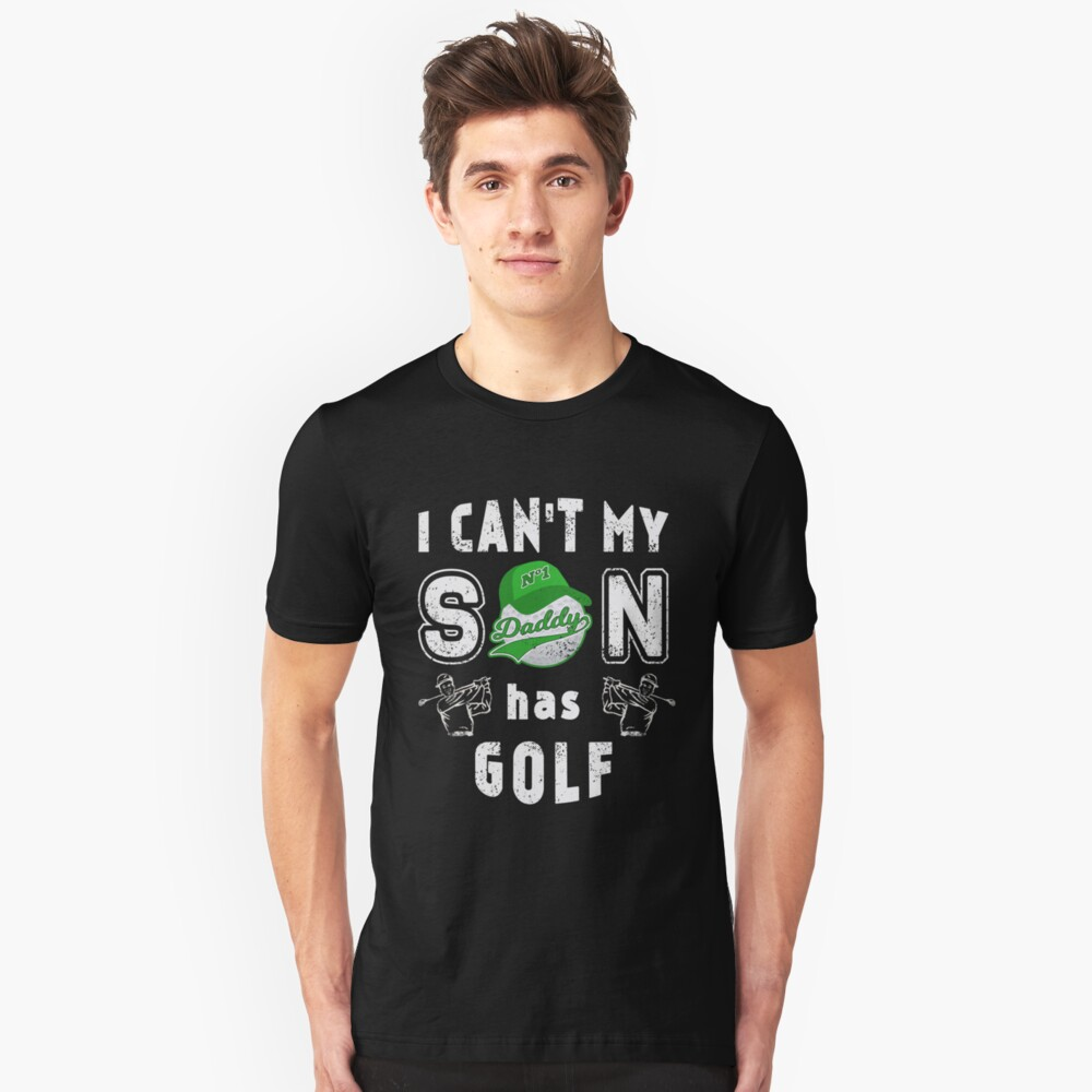 Golf Father Father Day for Golfers Daddy Dad Unisex T-Shirt Front