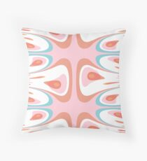 Algorithmic abstract shapes Floor Pillow