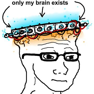 Big Brain Wojak - Universe Sized Brain by big-dingus