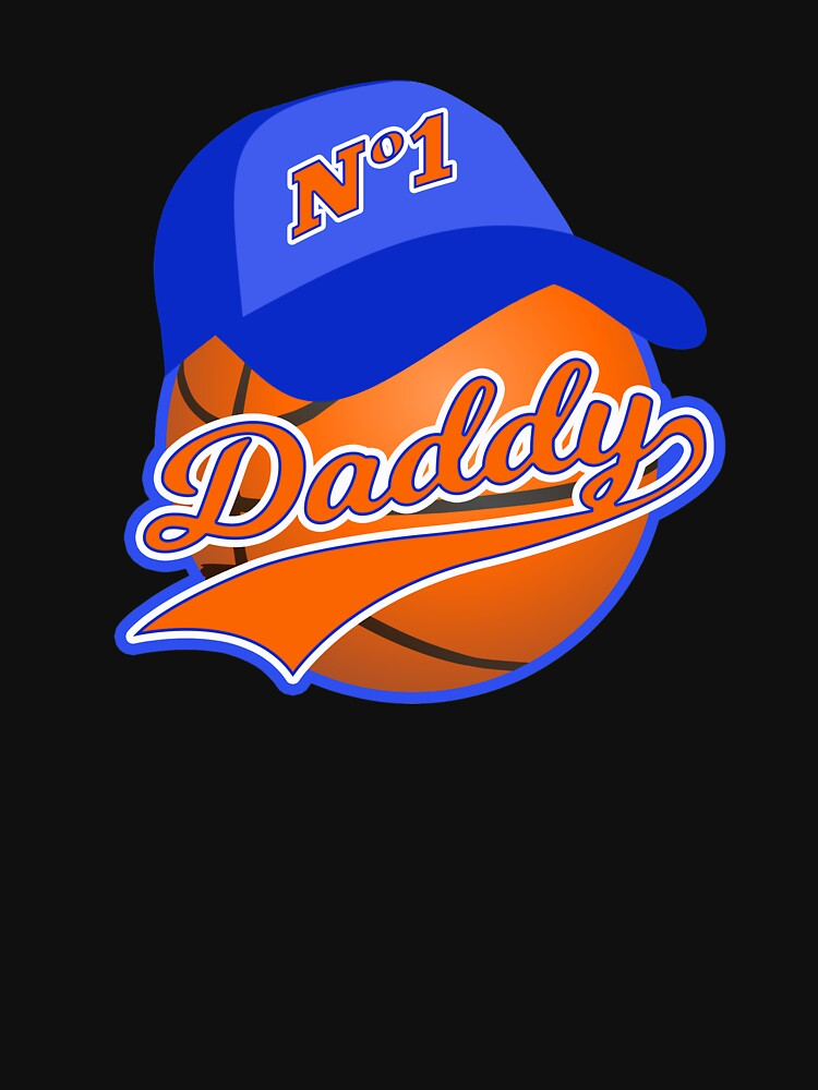 Basketball Fathers Day Basketball Daddy Dad Husband by TheLariat