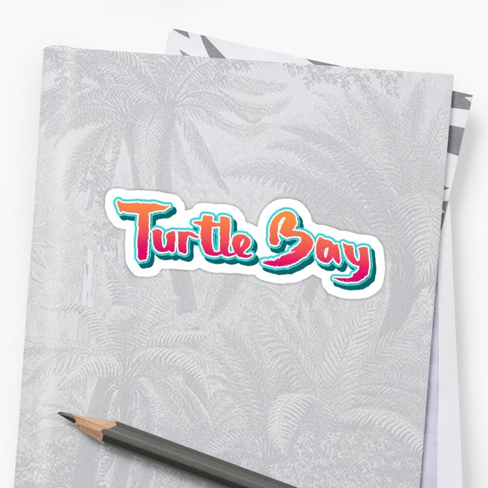 Turtle Bay Brush Typo by divotomezove