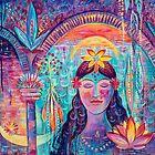 The Sweet Nectar Of Silence | Art by Marianna Ochyra