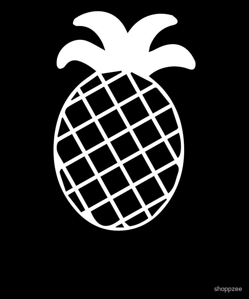 Pineapple Shirt Gardening Shirt by shoppzee