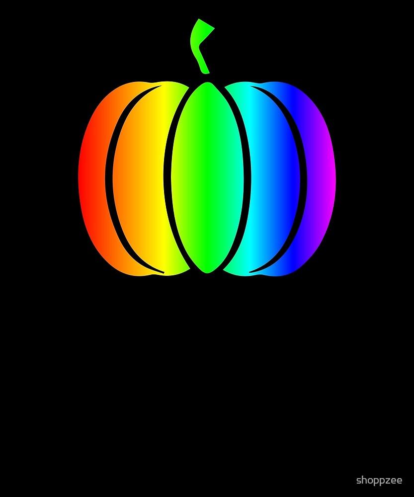 Squash Shirt Bright Rainbow Shirt by shoppzee