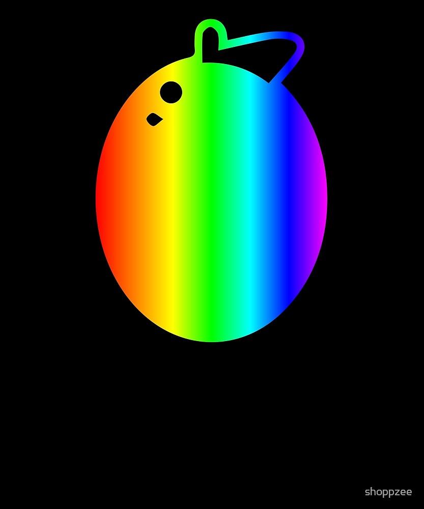 Mango Shirt Bright Rainbow Shirt by shoppzee