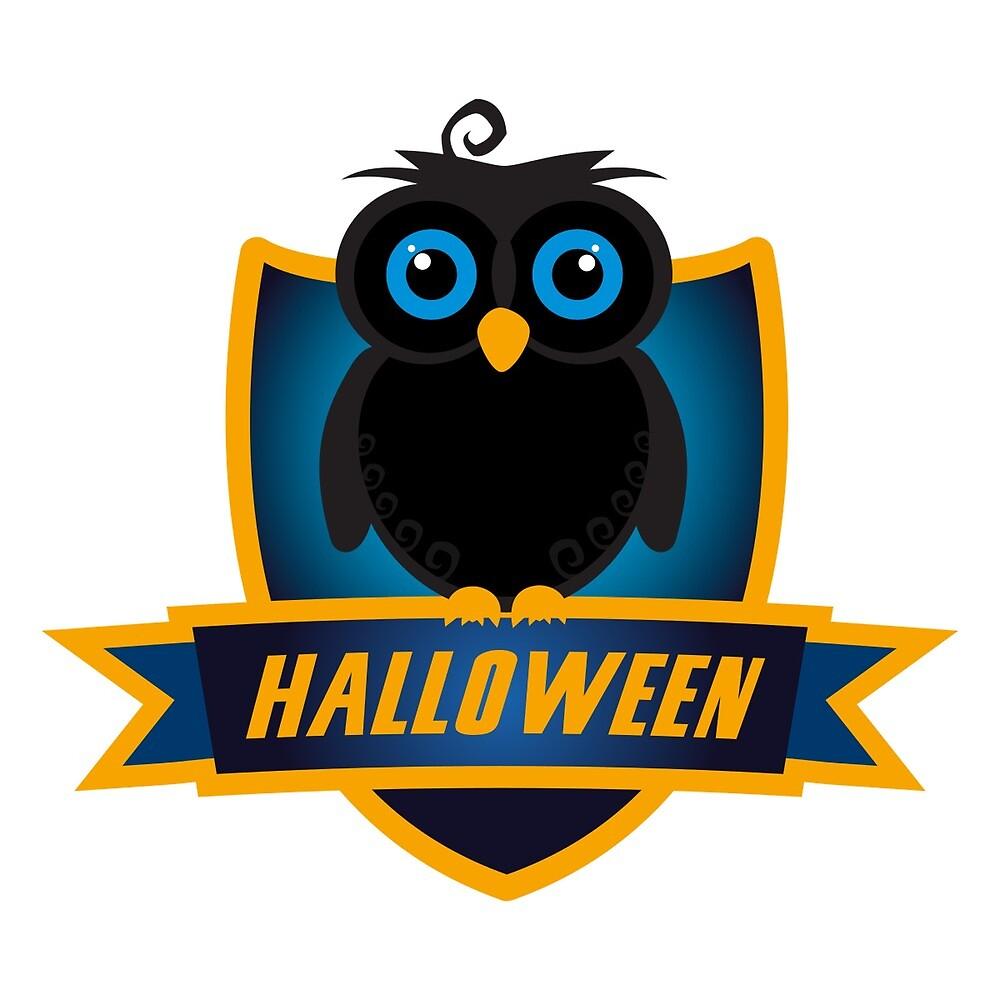 Halloween Owl by praaf