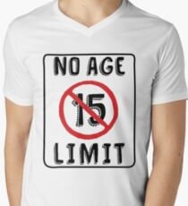 No Age Limit 15th Birthday Gifts Funny B Day For 15 Year Old Mens V