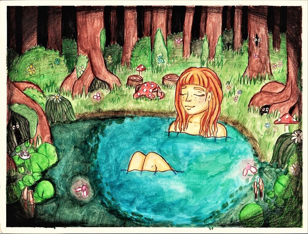 Magical Lake by TatumLuiten