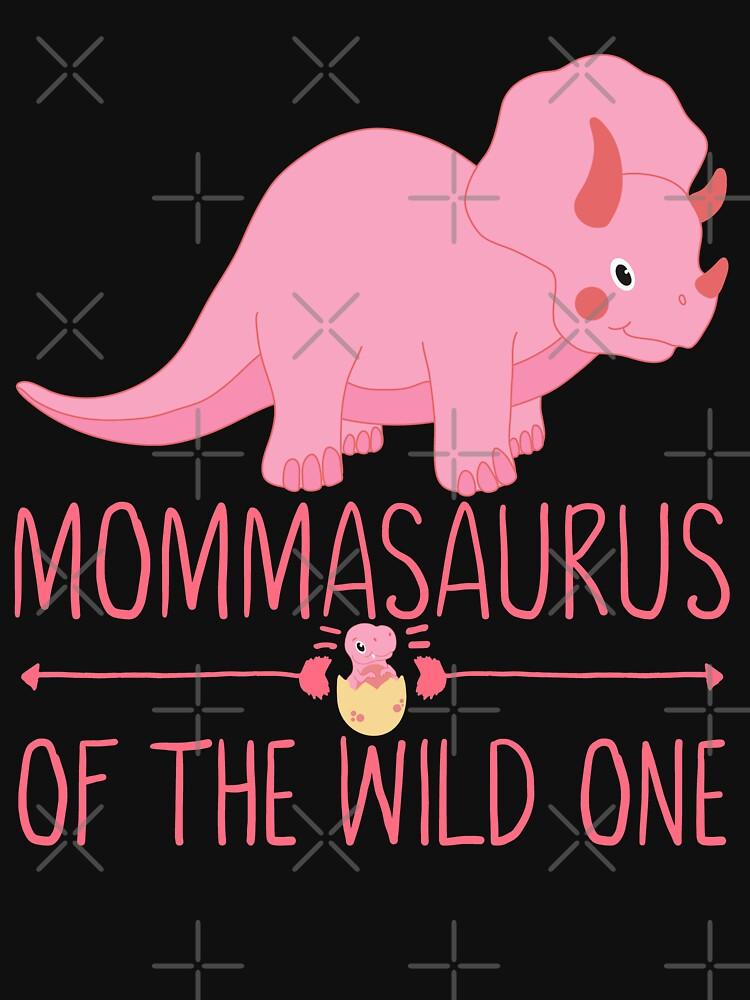 Momma Saurus Pink Mother Gift by FutureInTheAir