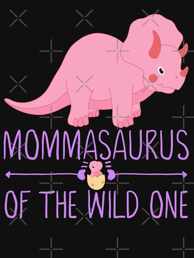 MommaSaurus  The Wild One Babysaurus by FutureInTheAir