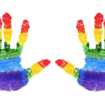Pride handprint by AnnaSaether