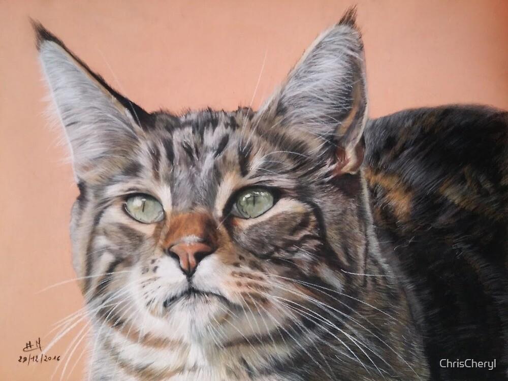 Cheryl portrait by ChrisCheryl