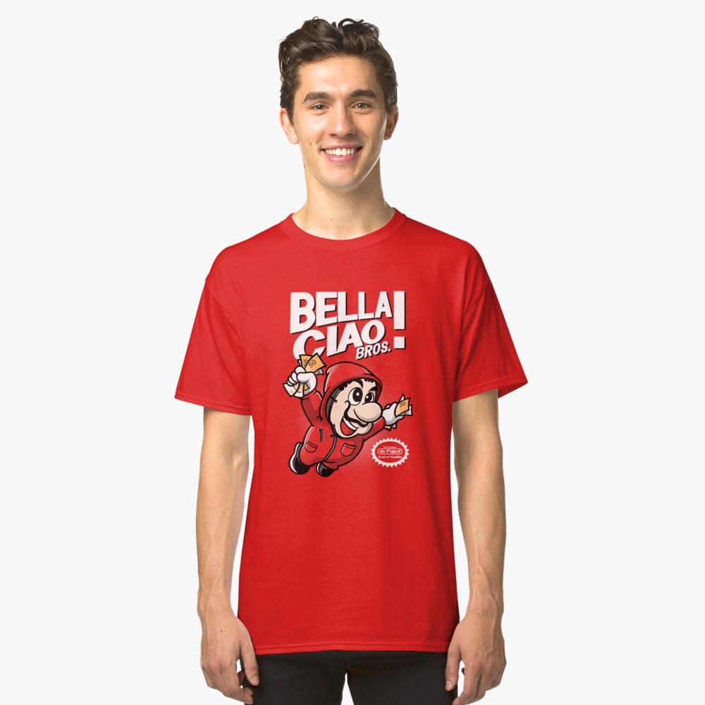 La casa de Papel bella ciao paordy Classic T-Shirt Front