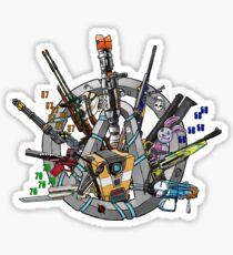 Damage - BL Logo 3 Sticker