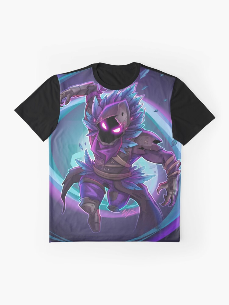 Alternate view of Raven Graphic T-Shirt